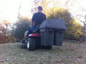 Lawnmower Guy: Stopped for Doing a Good Deed
