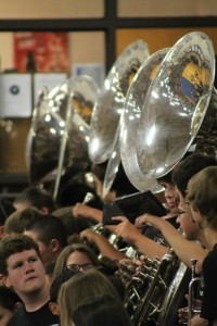 Band Members Advance in Auditions