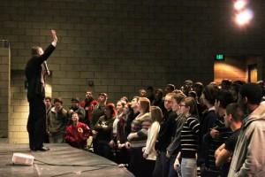 Congressman Doug Collins Preaches Economics to North