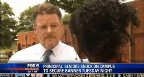 Racial Slur Displayed on Side of School as Senior Prank