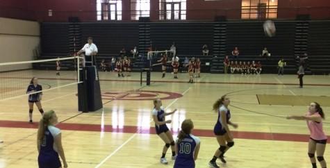 Freshman Volleyball Fights Back Hard
