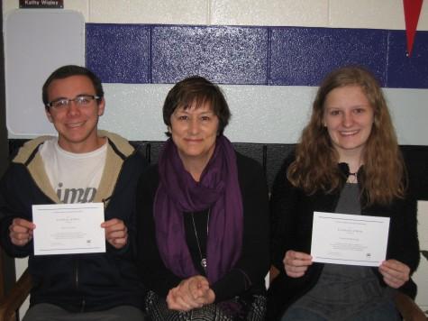 NFHS Seniors Awarded as National Merit Scholarship Finalists