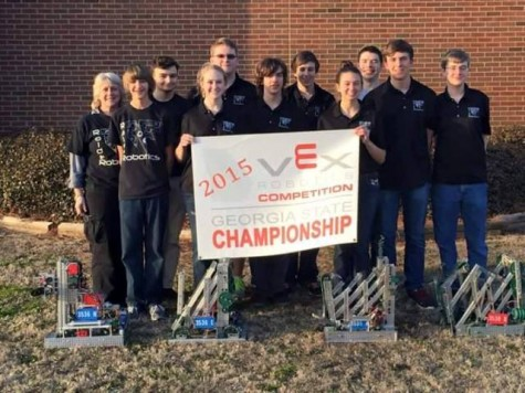 Raider's Robotic Team Travels to State Championship