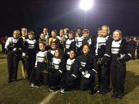 Raider Marching Band Earns Superior at Competition