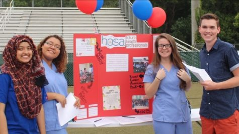 Taking A Deeper Look Into North Forsyth's HOSA Club