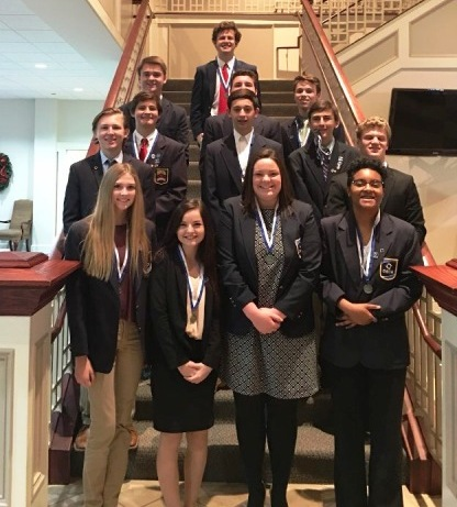 North Forsyth DECA Takes Home 13 Awards at District Competition