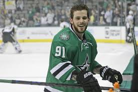 "This is a picture of Dallas Stars ""star"" Tyler Seguin. It was taken from this comical article about an instance where a fan brought him a burger after taking his order over Twitter."