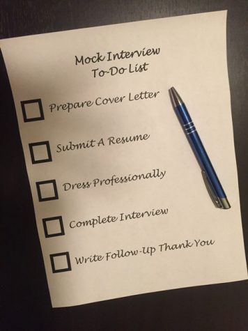 Mock Interviews at NFHS Give Students Real Life Skills
