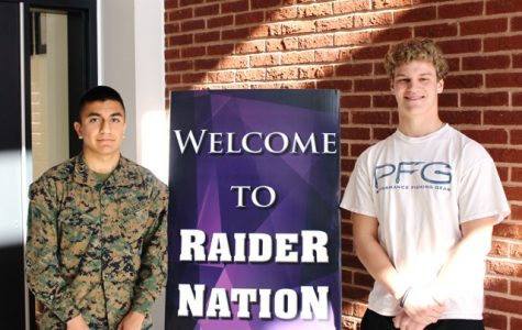 Two Raiders Headed to the Naval Academy