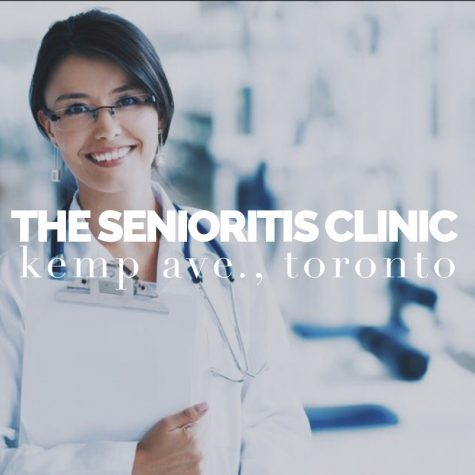 Dr. James Krumm Opens Senioritis Clinic to Fight Tragic Disease
