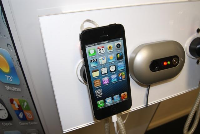 The iPhone 5 was released September Eighteenth and featured a slimmer and lighter design