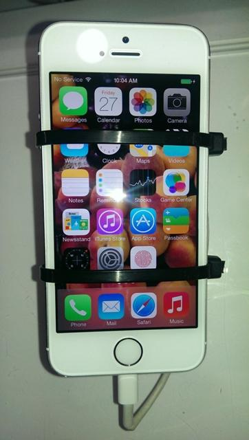 Introducing the new, reinvented iPhone 5S equipped with fingerprint scanner and improved camera!