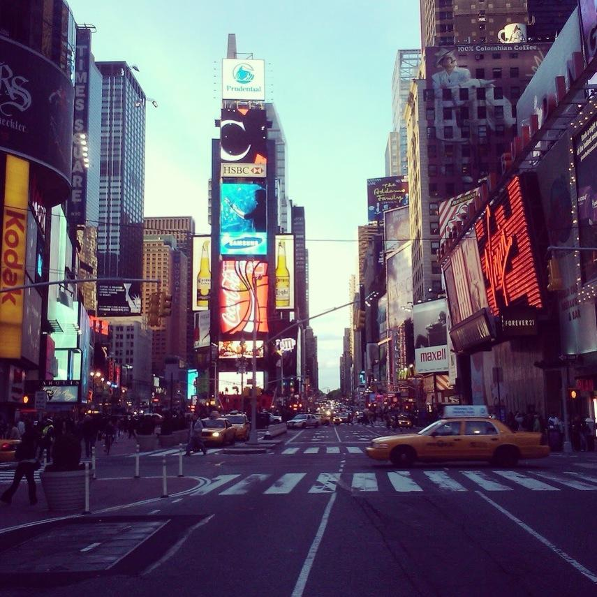 There's nowhere like Times Square