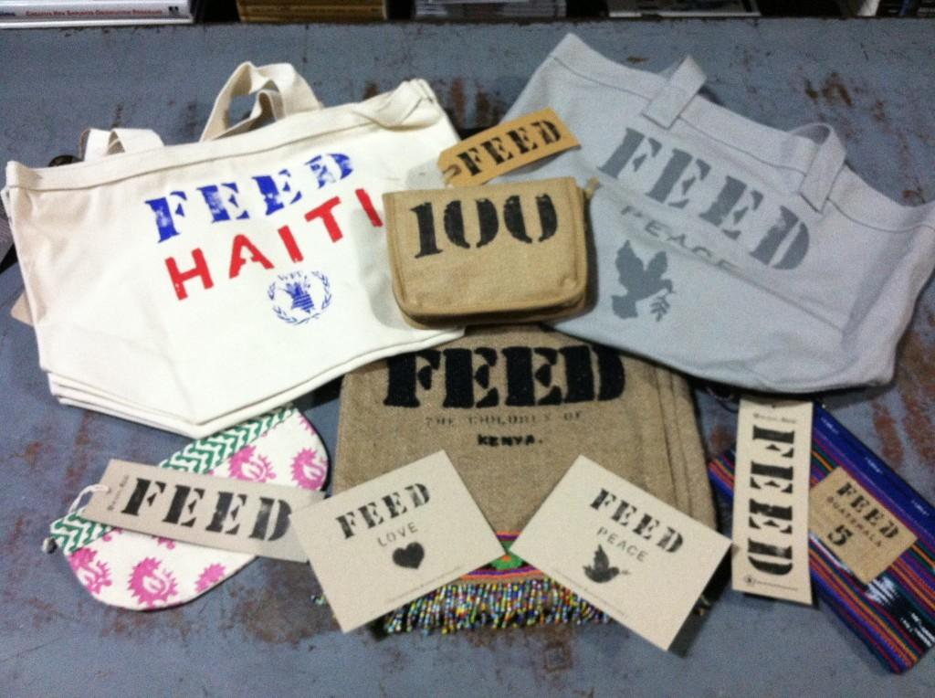 Target partners with Feed America to achieve the goal of feeding starving families. Would people say that this is a humanitarian thing?  Reprinted with permission by Brent Dixon who works for the distributor of Feed America.