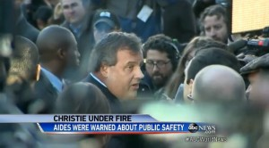 New Jersey mayor Chris Christie faces George Washington Bridge scandal allegations while setting up for 2016 Presidential Election.