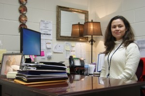 Dr. Olga Glymph takes pride and passion in her job as North Forsyth's Assistant Administrator, as her main goal is to embolden the generations of students she has the chance to impact with her intellectual and kind heart.