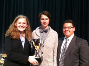Debate Team Places in Competition