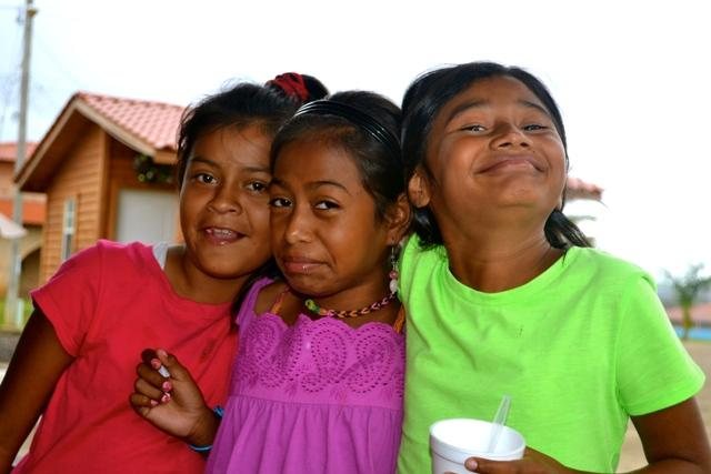 Many of the kids go to the tienda with their sponsors or other visitors to grab some snacks. We brought Walkedia and a couple of her friends to the tienda for some plaintain chips and soda.