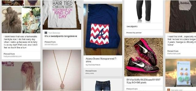 Pinterest is a great tool to search for lazy fashion inspiration. Make ana account for free and give it a try.