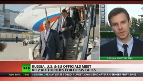 Diplomacy Talks in Ukraine