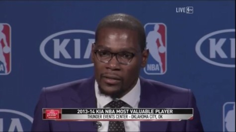 Kevin Durant MVP