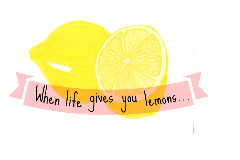 When life gives you lemons what should you do? Make some delicious goodies of course!