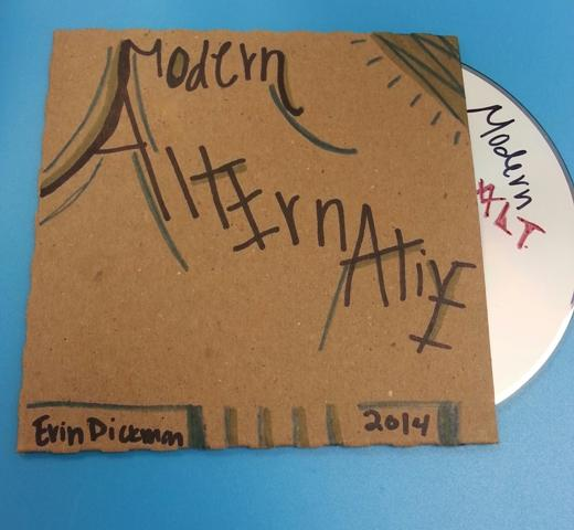 Copy of the Playlist designed by Erin Dickman, Senior.