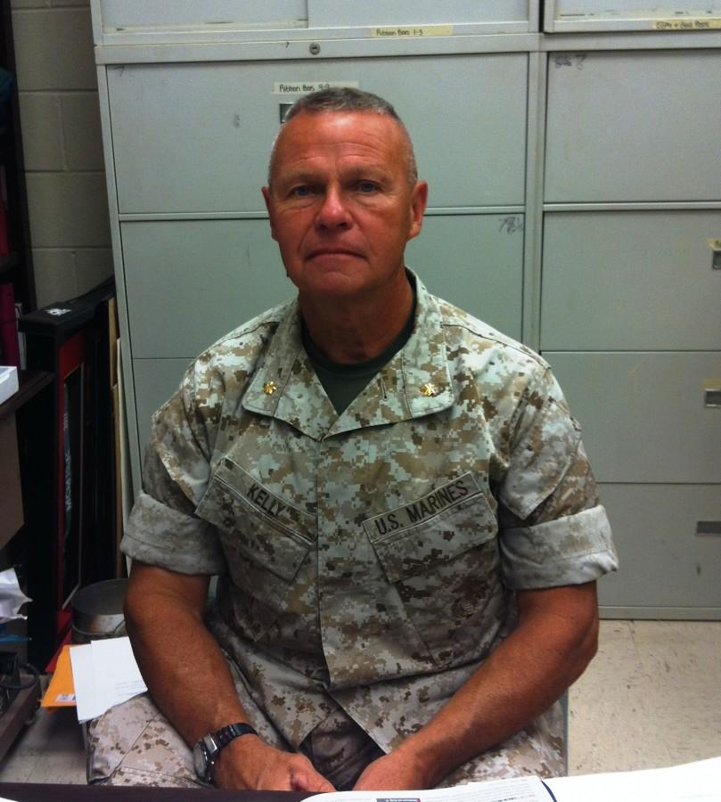 Major Kelly is a great influence for ROTC and feels that his students have a bright future ahead of them.