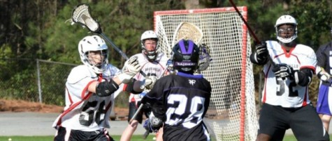 NFHS Lacrosse Serves Wounded Warrior