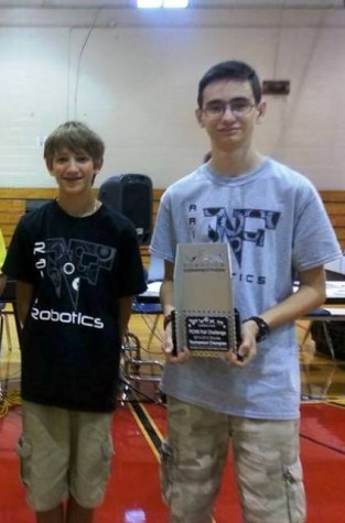 NFHS Robotics Steals the Win in the Vex Championship Tournament