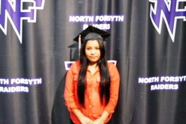"""Senior Jessica Marex is very excited for graduation. She said, """"Graduating is about getting a better education, going to college and stuff like that is the main goal of any graduate."""""""