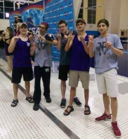 Record-Setting Performance by the Raider Swim Team at State