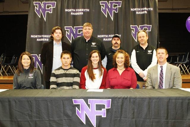 Valerie Billstrom, also a senior on the soccer team, singed to Emmanuel College in Franklin Springs, Georgia. Photo used with permission from Nathan Turner.