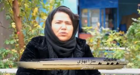 Meet Afghanistan's First Female Taxi Driver, Sara Bahayi