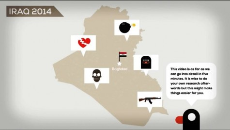 """News site """"Kurzgesagt"""" explains the current issues in Iraq in less than five minutes here, including hot topics such as ISIS, Syria, and regional war."""