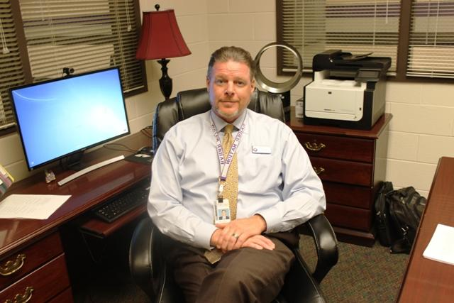 Mr.+Cheney+is+always+at+work%2C+whether+he+is+out+and+about+or+at+his+desk.+The+amount+of+effort+our+new+principal+puts+into+his+work+is+massive+and+truly+exceptional.