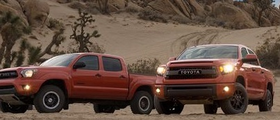 Toyota makes excellent trucks and cars that are very reliable. Trucks and SUV's are able to go off road and explore very different places in the world.