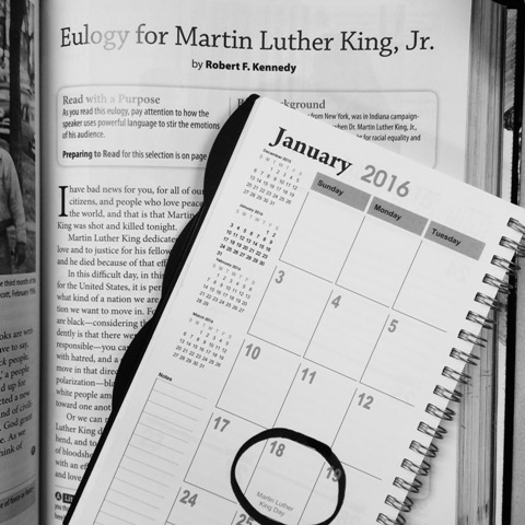 There are many events around Atlanta that commemorate Dr. Martin Luther King, Jr.