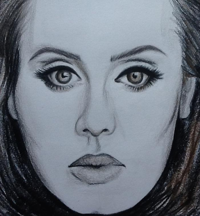 25%2C+Adele%E2%80%99s+highly+anticipated+third+studio+album%2C+came+out+in+November.+Picture+drawn+and+used+with+permission+by+Cameron+Fields.+
