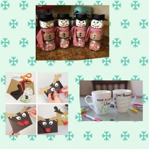 These are pictures that you can create your DIY gifts with.
