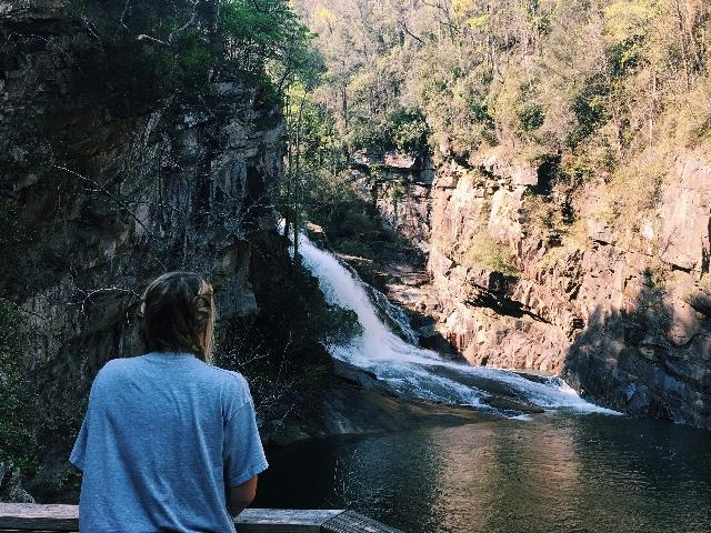 The Tallulah Gorge is one of the many places included that you could visit during your Fall Break.