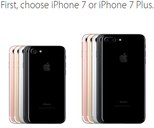 While some fans choose to wait outside of flagship Apple Stores, it is recommended to order the iPhone 7 and iPhone 7 Plus online.