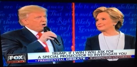 "Tensions ran high during the second presidential debate, which took place last Sunday at Washington University.  Trump and Hillary surprised viewers with their harsh words against each other, including Trump's statement, ""If I win I will ask for a special prosecutor to investigate you,"" and Hillary's appeal that ""Trump doesn't have the discipline to be a good leader."""