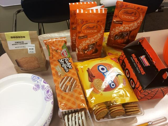 Is pumpkin spice worth the hype? The Raider Wire put some popular pumpkin snacks to the test.