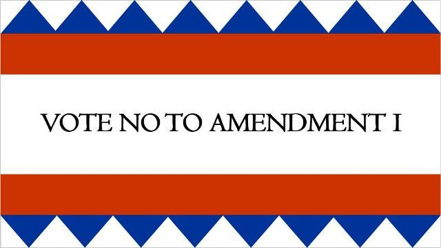 Amendment I will harm the school system as it has in other states. Vote NO to Amendment I and support the local school board and teachers.