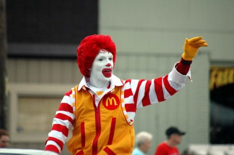 "Ronald McDonald, the official face of McDonald's fast food chain, is ""on hiatus"" until the clown craze settles. The company made a statement on Oct. 12, saying that they intend to be ""thoughtful"" when planning public appearances for Ronald McDonald. (Picture from Flickr)"