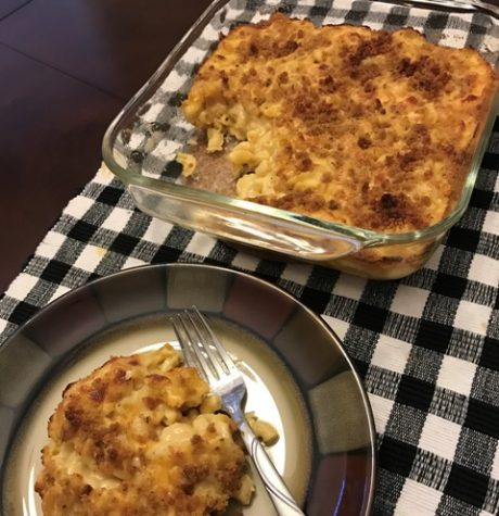 This macaroni and cheese is perfect as a full meal or a side dish. It is also ideal for Thanksgiving or Christmas dinner.