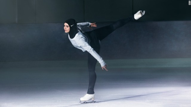 (Photo By: CNN Money) Emirati figure skater Zahra Lari told CNN news,