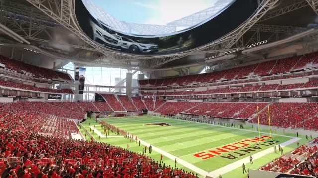 What is atlanta united fc the raider wire for Who owns mercedes benz stadium