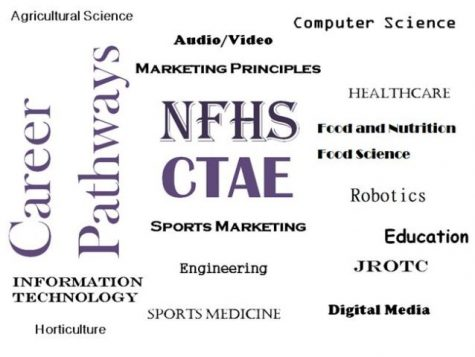 Endless College and Career Possibilities at NFHS. For more information see your counselor or visit the pathway page on the North Forsyth High School web page under counseling.